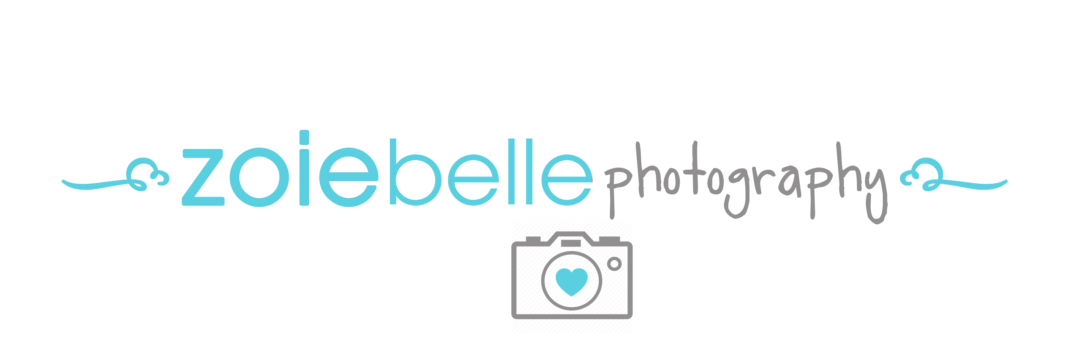 Logo for zoiebelle photography
